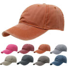 Unisex Dyed Cotton Twill Low Profile Adjustable Sport Baseball Cap Hat Gift New