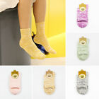 Lots 1/5 Pair Women Cotton Socks Breathable Stocking Solid Color Casual Hosiery