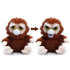 CRAZY ELF Hot Feisty Scary Animal Face Doll With Soft Plush Stuffed Funny Toy