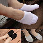 Mens 1/5Pairs Casual Loafer Boat Non-Slip Invisible Low Cut No Show Cotton Socks