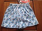 NEW***Cute Monkey Baby Toddler BOYS Cotton Short***Blue***9 month or 12 month