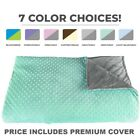 CALMFORTER(tm) Premium Weighted Blanket for Adults & Children - Color Options