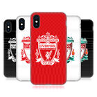 LIVERPOOL FC LFC DESIGN CREST COVER MORBIDA IN GEL PER APPLE iPHONE PHONES