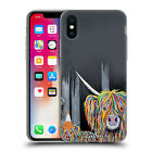 OFFICIAL STEVEN BROWN HIGHLAND COW COLLECTION 2 GEL CASE FOR APPLE iPHONE PHONES
