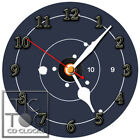 S-723 CD CLOCK-TARGET WITH BULLET HOLES- 22LR-9MM-357 MAGNUM-SEMI OUT PISTOLS  9mm clocks | Review of the Glock 19:  9mm Compact Handgun 1924170174424040 1