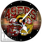 S-941 CD CLOCK-SAN FRANCISCO 49ERS FOOTBALL HELMET IMAGE-FAST FREE SHIPPING on eBay
