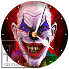 S-947 CD CLOCK-CLOWN-DESK OR WALL CLOCK-FREE FAST SHIPPING-GREAT GIFT