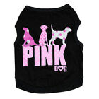 Cute Dog Pet Puppy Cool Shirt Pink Dog Vest for Small Pets Cloth XS/S/M/L US