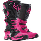 Fox Racing - WOMENS COMP 5 BOOTS - Black/Pink - 16450