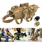 Military Working Dog Harness K9 Molle German Shepherd Tactical Vest with 3 Bags