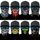 SKULL Cycling Motorcycle Head Scarf Neck Tube Face Mask Ski Balaclava Headband