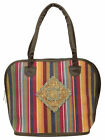 Women Upholstery Fabric Purse Ladies Shoulder Casual Handbag -Color Available