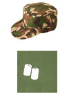 Army Military Soldier Combat Fancy Dress Stags Hens Costume Accessories Lot Kit