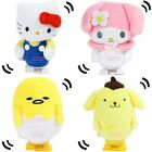 JAPAN SANRIO KITTY MELODY POM POM PURI GUDETAMA MOVING MASCOT WINDUP PLSUH DOLL