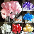 100pcs Colorful Latex Balloon Pearl Wedding Birthday Bachelorette Party 10 inch