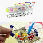 HOT Funny Baby Toy Trolley Mini Metal Shopping Cart Mobile Holder Storage Basket