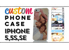 PERSONALISED CUSTOM PRINTED PHOTO CASE PICTURE  COVER for iPhone SE or 5S