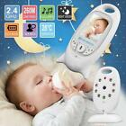 2.4GHz Wireless Digital LCD Baby Monitor Audio Voice Alarm NightVision Camera FZ