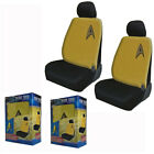 New Yellow Star Trek Delta Command Logo Front Pair Low Back Car Seat Covers on eBay