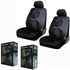 New Gray & Black Star Wars Darth Vader Front Pair Low Back Car Seat Covers $67.09 CAD