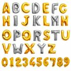 Foil Number Letter Helium or Air Balloons Happy Birthday Party Gifts Decoration