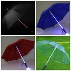 LED Gleamy Sheer Umbrella Flashlight Blade Runner Light Saber Star Wars Parasol £11.29 GBP