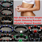 Magnetic Bracelet Weight loss Natural Beads Stone Therapy Health Care Jewelry JR