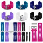 Garmin Vivoactive HR Replacement Band, Silicone Strap with Adapter Pins & Tool