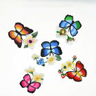 1pc Embroidered Butterfly Flower Ironed on Appliqué Patch DIY Craft 8125h E