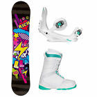 Stella Rich L-1 Womens Complete Snowboard Package 2018