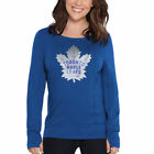 Touch by Alyssa Milano Toronto Maple Leafs Women's Royal Lateral Sweatshirt