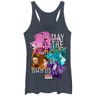 Star Wars Forces of Destiny Force With You Womens Graphic Racerback Tank $25.99 USD on eBay