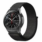 For Samsung Gear S3 Frontier Classic / Galaxy Watch 46mm Band Nylon Sport Loop