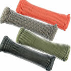 550 Paracord 100 ft. 7 Strand Parachute Cord Outdoor Survival Camping Rope