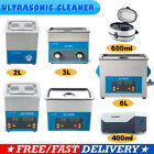 Digital Stainless Ultrasonic Jewellery Watch Glasses CD Cleaner Sonic Wave Clean