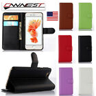 For Apple iPhone 6 5 5S 7 Plus Flip Wallet Leather Stand Case Card Phone Cover