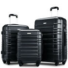 Merax Luggage set 3 piece luggages Suitcase with TSA lock