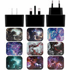 OFFICIAL ANDI GREYSCALE NEBULA BLACK US CHARGER & USB CABLE FOR APPLE iPAD