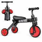 New Besrey 2 In 1 Baby Tricycle for Child Kids Balance Trike Bike