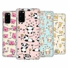 HEAD CASE DESIGNS CUTESY DOODLES HARD BACK CASE FOR SAMSUNG PHONES 1