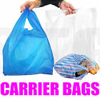 PLASTIC VEST CARRIER BAGS BLUE OR WHITE VENUS BRAND