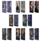 OFFICIAL SELINA FENECH GOTHIC LEATHER BOOK WALLET CASE FOR SAMSUNG PHONES 1