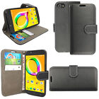 Magnetic Flip Wallet Leather Book Card Slots Case Cover Alcatel Various Phones