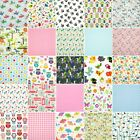 Fabric Remnant Pack KIDS NURSERY Scraps Offcuts Polycotton Craft Material