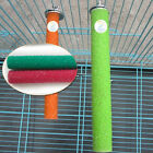 Wooden Pet Bird Bite Toys Paw Chew Grinding Stand Perches Cage Parrot Budgie
