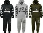 Boys Tracksuits Camouflage Print Army Style Jogging Suits Hoodie & Joggers 2-10y