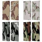 HEAD CASE DESIGNS MILITARY CAMO LEATHER BOOK CASE FOR MICROSOFT NOKIA PHONES