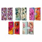 HEAD CASE DESIGNS FLOWERS LEATHER BOOK WALLET CASE COVER FOR MOTOROLA PHONES