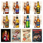 Sexy Pin Ups 5 Retro Metal Signs/Plaques Man Cave,Novelty Gift, Bar/ Pub Alcohol £5.5 GBP on eBay