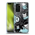 HEAD CASE DESIGNS SPACE ANIMALS SOFT GEL CASE FOR HUAWEI PHONES